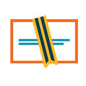Writing program icon